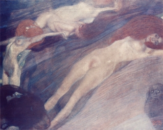Klimt Moving Water