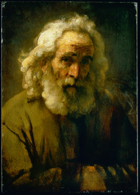 SM Rembrandt Head of an Old Man