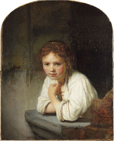 Girl at a Window (1645)