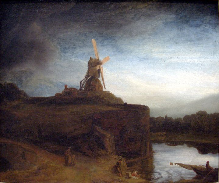 Rembrandt Harmensz van Rijn - The Mill